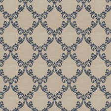Midnight Damask Decorator Fabric by Trend