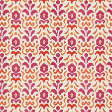 Pink Orange Global Decorator Fabric by Stroheim