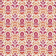Pink Orange Global Decorator Fabric by Stroheim