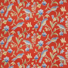 Persimmon Animal Decorator Fabric by Stroheim