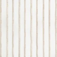 White/Beige/Neutral Stripes Decorator Fabric by Kravet