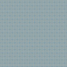Turquoise Small Scale Woven Decorator Fabric by Fabricut