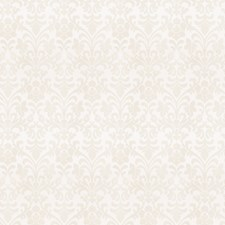 White Damask Decorator Fabric by Trend