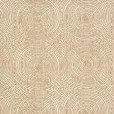 Walnut Geometric Decorator Fabric by Vervain