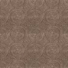 Cocoa Geometric Decorator Fabric by Vervain
