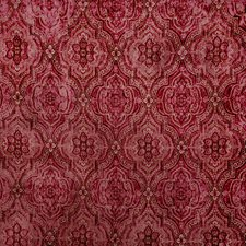 Pomegranate Paisley Decorator Fabric by Vervain