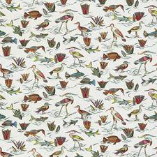 Ribbon Multi Animal Decorator Fabric by Stroheim