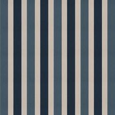 Blue Bell Stripes Decorator Fabric by Fabricut