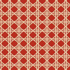 Red Asian Decorator Fabric by Fabricut