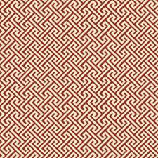 Poppy Geometric Decorator Fabric by Trend