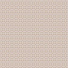Natural Geometric Decorator Fabric by Trend