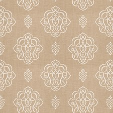Natural Print Pattern Decorator Fabric by Trend