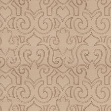 Latte Contemporary Decorator Fabric by Trend