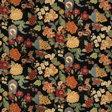 Onyx Garden Animal Decorator Fabric by Trend