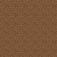 Chocolate Jacquard Pattern Decorator Fabric by Trend