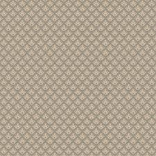 Blue Silver Small Scale Woven Decorator Fabric by Stroheim