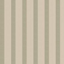 Celadon Stripes Decorator Fabric by Stroheim