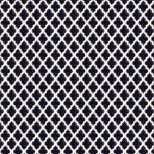 Indigo Jacquard Pattern Decorator Fabric by Fabricut