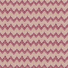 Orchid Flamestitch Decorator Fabric by Fabricut