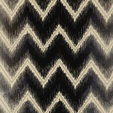 Platinum/Jet Decorator Fabric by Schumacher