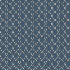 Nautical Embroidery Decorator Fabric by Fabricut