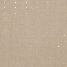 Linen Silver Embroidery Decorator Fabric by Fabricut