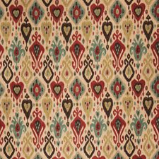 Exotic Red Global Decorator Fabric by Fabricut
