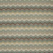 Spa Flamestitch Decorator Fabric by Fabricut