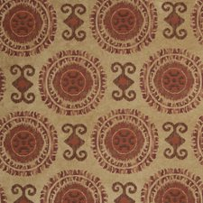 Chili Red Global Decorator Fabric by Fabricut