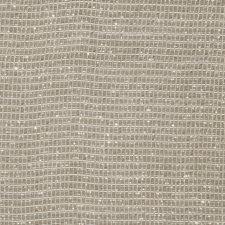 Platinum Small Scale Woven Decorator Fabric by Stroheim