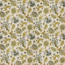 Watercolor Jacobean Decorator Fabric by Fabricut