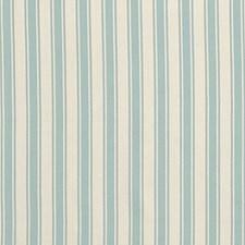 Ivory/Aqua Decorator Fabric by Schumacher