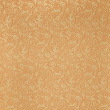 Pumpkin Paisley Decorator Fabric by Stroheim