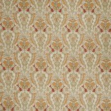 Olive Curry Paisley Decorator Fabric by Stroheim
