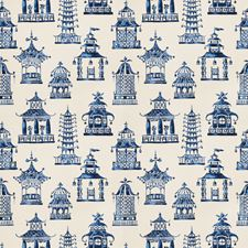 Royal Blue Global Decorator Fabric by Fabricut