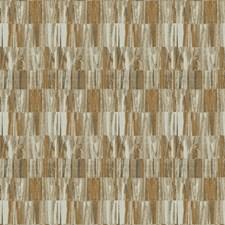 Copper Geometric Decorator Fabric by Fabricut