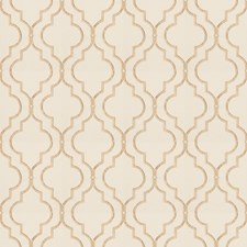 Tan Embroidery Decorator Fabric by Fabricut