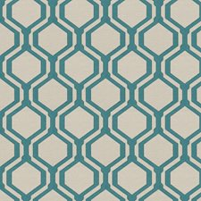 Jade Geometric Decorator Fabric by Fabricut