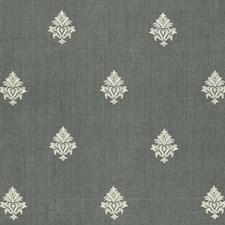 Midnight Decorator Fabric by Schumacher