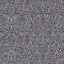 Denim Paisley Decorator Fabric by Fabricut