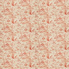 Burnt Orange Asian Decorator Fabric by Fabricut