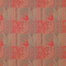 Rosso Decorator Fabric by Clarence House
