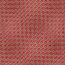 Magenta Lattice Decorator Fabric by Fabricut
