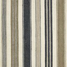 Noir/Tobacco Decorator Fabric by Schumacher