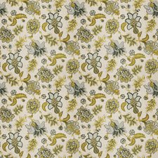 Watercolor Jacobean Decorator Fabric by Fabricut