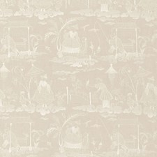 Linen Decorator Fabric by Schumacher
