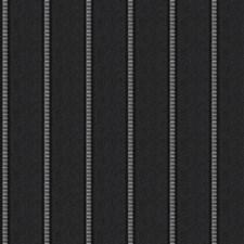 Black Rock Stripes Decorator Fabric by Fabricut