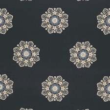 Midnight Decorator Fabric by Schumacher
