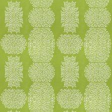 Lime Geometric Decorator Fabric by Fabricut