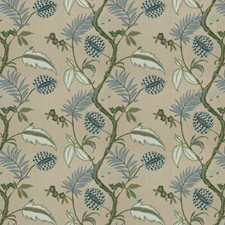 Juniper Embroidery Decorator Fabric by Stroheim